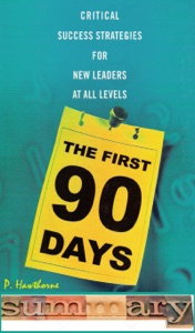 The First 90 Days Summary Book Cover