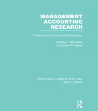 Management Accounting Research (RLE Accounting)