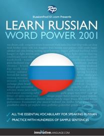 LEARN RUSSIAN - WORD POWER 2001