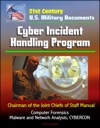 21st Century US Military Documents Cyber Incident Handling Program Chairman Of The Joint Chiefs Of Staff Manual - Computer Forensics Malware And Network Analysis CYBERCON