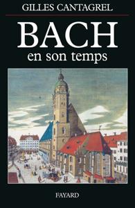 Bach en son temps La couverture du livre martien
