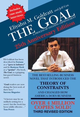 The Goal - Eliyahu M. Goldratt book