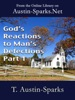 God's Reactions to Man's Defections - Part 1