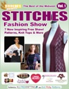 The Best Of The Midwest Stitches Fashion Show 7 New Inspiring Free Shawl Patterns Knit Tops  More