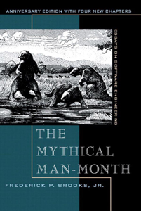 Mythical Man-Month, The: Essays on Software Engineering, Anniversary Edition, 2/e Copertina del libro