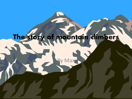 The Story of Mountain Climbers book