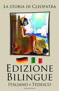 Edizione Bilingue - La storia di Cleopatra (Italiano - Inglese) Libro Cover