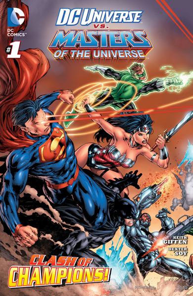 DC Universe vs. Masters of the Universe (2013) #1