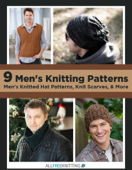 9 Men's Knitting Patterns