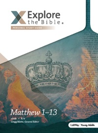 EXPLORE THE BIBLE: YOUNG ADULT PERSONAL STUDY GUIDE - KJV