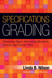 Specifications Grading book