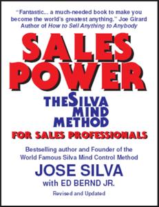 Sales Power, the Silva Mind Method for Sales Professionals Boekomslag