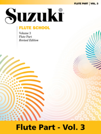 Suzuki Flute School - Volume 3 (Revised) book