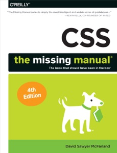 CSS: The Missing Manual Book Cover