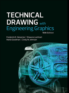 Technical Drawing with Engineering Graphics, 15/e Libro Cover