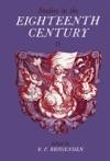 Studies In The Eighteenth Century II