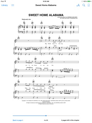Sweet Home Alabama Sheet Music