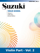 Suzuki Violin School - Volume 2 (Revised)
