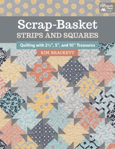 Scrap-Basket Strips and Squares Book Cover