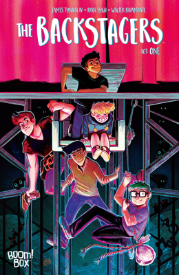 The Backstagers #1 - James Tynion IV & Rian Sygh book