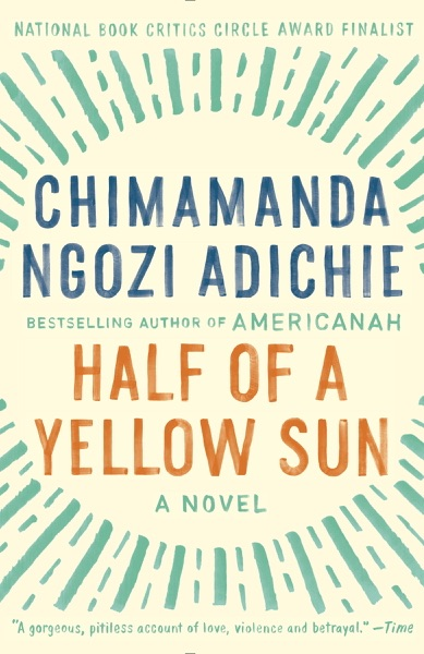 Half of a Yellow Sun - Chimamanda Ngozi Adichie book cover