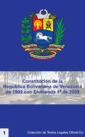 Constituci N De La Rep Blica Bolivariana De Venezuela De 1999