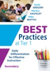 Best Practices At Tier 1 Secondary