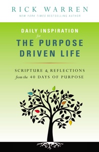 Daily Inspiration for the Purpose Driven Life Book Cover
