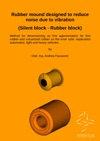 Rubber Mound Designed To Reduce Noise Due To Vibration Silent Block - Rubber Block