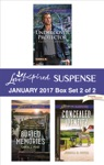 Harlequin Love Inspired Suspense January 2017 - Box Set 2 Of 2
