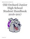 Old Orchard Junior High School  Student Handbook