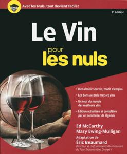 Le Vin pour les Nuls, 9e édition La couverture du livre martien