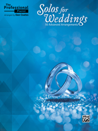 The Professional Pianist: Solos for Weddings book