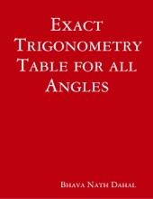 Exact Trigonometry Table For All Angles
