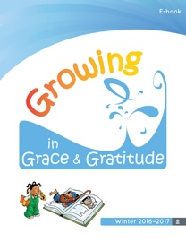 Growing In Grace Gratitude Story Book
