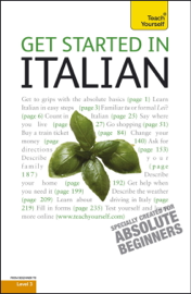 Get Started in Beginner's Italian: Teach Yourself book