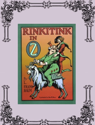 Rinkitink in Oz book cover
