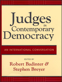 Judges in Contemporary Democracy