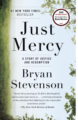 Just Mercy - Bryan Stevenson book