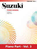Suzuki Piano School - Volume 3 (New International Edition)