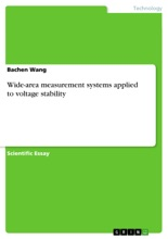 Wide-area Measurement Systems Applied To Voltage Stability