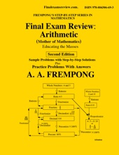Final Exam Review: Arithmetic