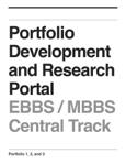 Portfolio Development and Research Portal