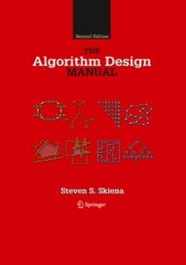 The Algorithm Design Manual par Steven S. Skiena Couverture de livre
