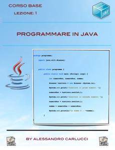Programmare in Java - Lezione 1 Book Cover