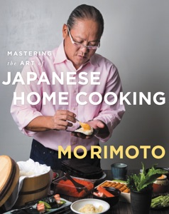 Mastering the Art of Japanese Home Cooking by Masaharu Morimoto Book Cover