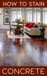 How To Stain Concrete - DIY Home Improvement
