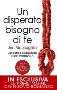 Un disperato bisogno di te di Jen McLaughlin Copertina del libro