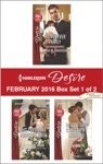 Harlequin Desire February 2016 - Box Set 1 Of 2