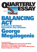 Quarterly Essay 61 Balancing Act